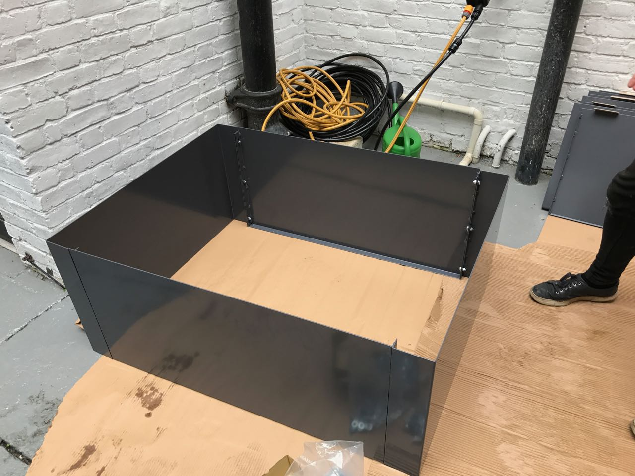 steel planter from Everedge
