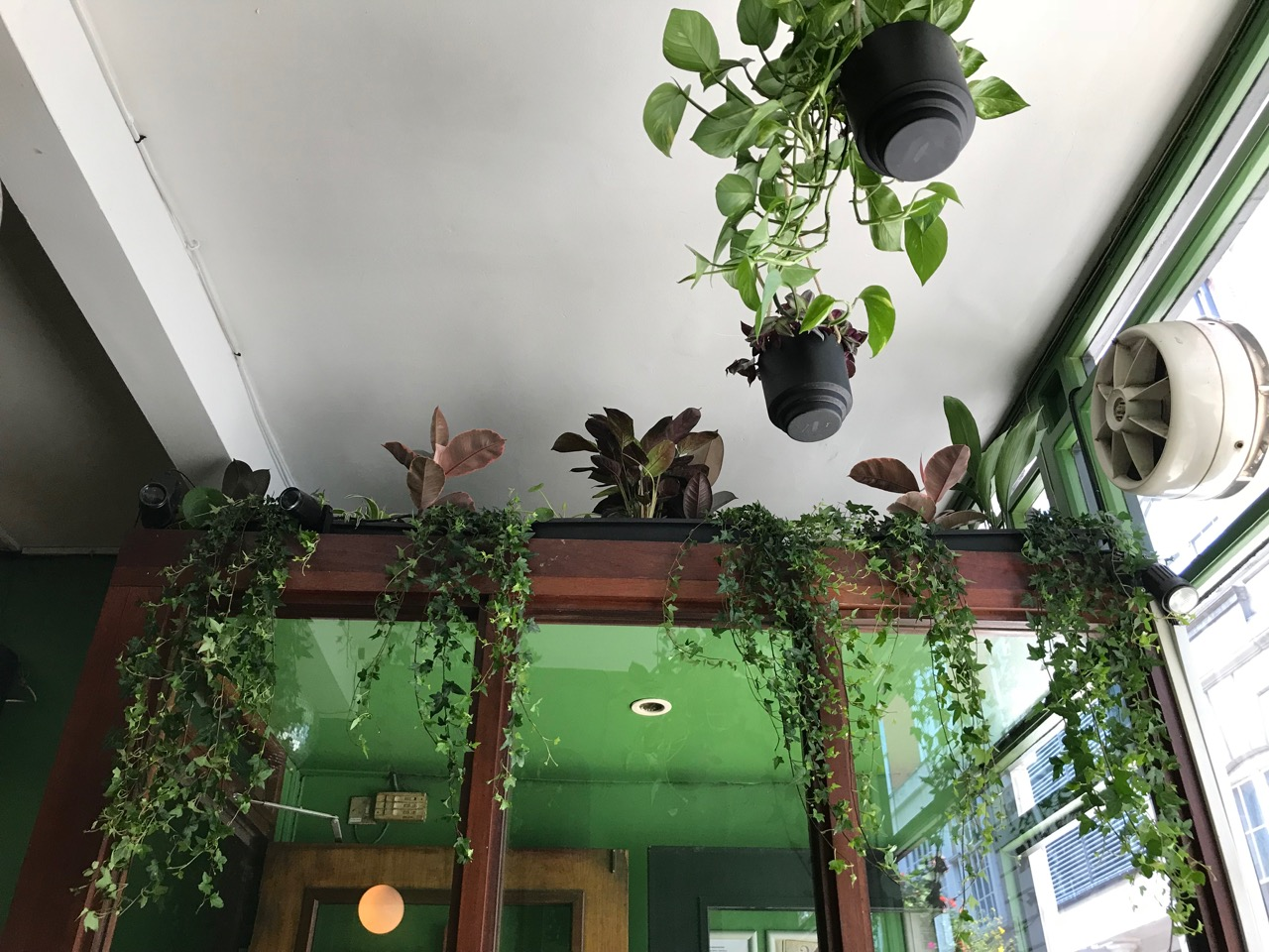 barworks 2 floors indoor garden planting hanging and troughs carnaby street