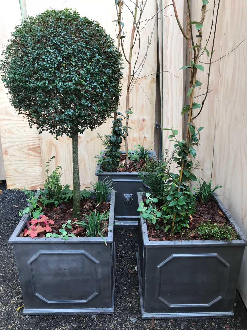 planters at Wates RCS